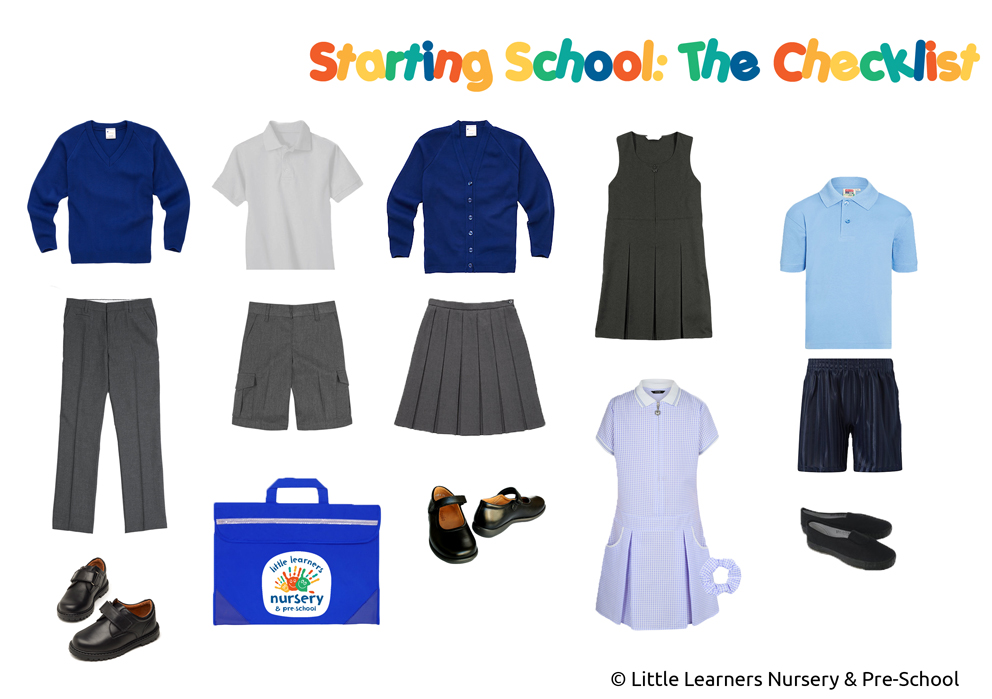 Starting school: The Checklist