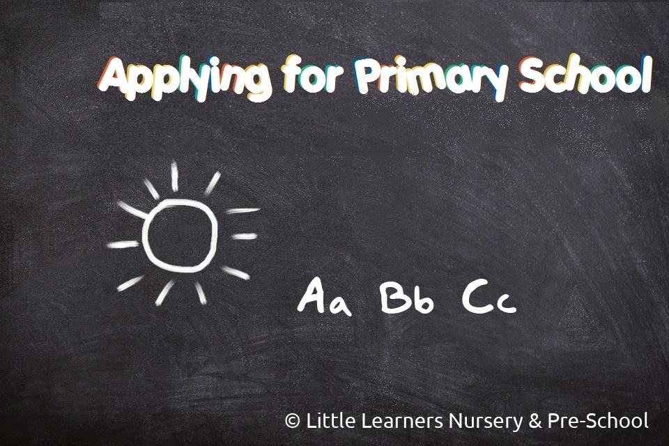 applying-for-primary-school